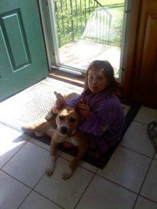 Dog with Child